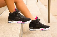 The Air Jordan 5 GS Deadly Pink Drops This Weekend