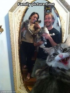 Family Picture Gone Wrong