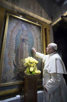 (via Margaret Kelm) In Mexico, Pope Francis tells adoring crowds he could pray all night....