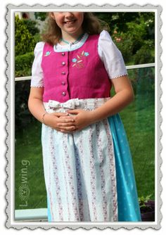 Dirndl selber nähen ... self made dirndl dress