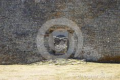 Detailed entrance to the great Zimbabwe ruins.