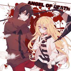 Angels of death Otaku Anime, Manga Anime, Anime Art, Anime Neko, Angel Of Death, I Love Anime, Me Me Me Anime, Mad Father, Rpg Horror Games