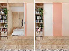 plywood cube via design to inspire