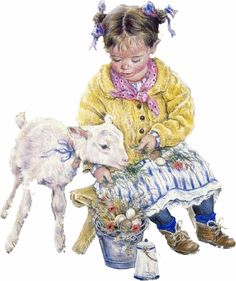 This site has both Lisi Martin & Christine Haworth art. Difference IS descernable.