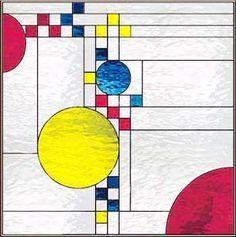 Frank Lloyd Wright Designs | ... GLASS WINDOW INSPIRED BY FRANK LLOYD WRIGHT CUSTOM AT GLASS BY DESIGN