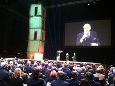 Il Prof. Umberto Veronesi alla giornata Expo delle idee #expoidee #Expo2015 #Mlano #alimentazione #futuro #HangarBicocca
