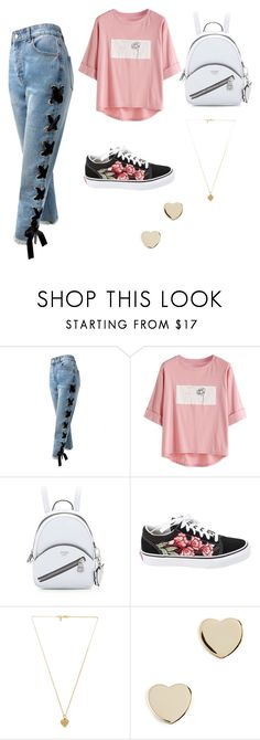 """""""Untitled #70"""" by anora-rampersad ❤ liked on Polyvore featuring Sans Souci, Vans, Vanessa Mooney, Shashi and MyFaveTshirt"""