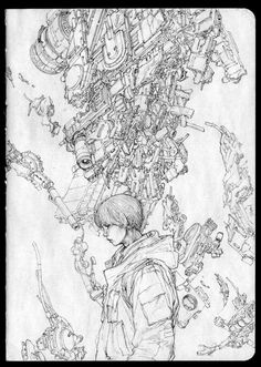 "sekigan: ""ArtStation - Drawing Note - 07, Jong Hwan """