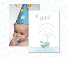 Personalized Birthday Party Invitation Printable 5x7  by daintzy, $8.00