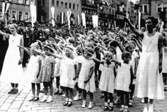 """Thousands of children were transferred to the Lebensborn centers in order to be """"Germanized."""" Up to 100,000 children may have been stolen from Poland alone.In these centers, everything was done to force the children to reject and forget their birth parents. As an example, the SS nurses tried to persuade the children that they were deliberately abandoned by their parents. The children who refused the Nazi education were often beaten. Most of them were finally transferred to concentration…"""