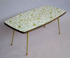 Mosaic Table Switzerland 1950s | From www.1stdibs.com.
