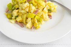 Ham-kaasstamppot met prei - Recept - Allerhande
