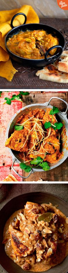 We love a good chicken curry recipe and this is a list of our ultimate favourites. From Madhur Jaffrey's ultimate Chicken Tikka Masala to Nadiya Hussain's fragrant Bengali Korma, there's a tasty midweek meal or mouth-watering weekend feast for everyone on this list.