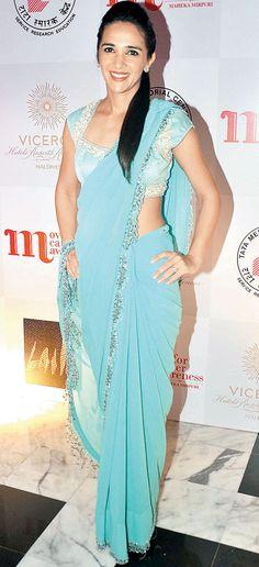 Tara Sharma at Maheka Mirpuri's fashion show. #Bollywood #Fashion #Style #Beauty