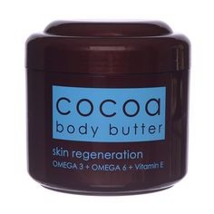 Ziaja Cocoa Butter Body Butter Seed Butter, Body Butter, Bath And Shower Products, Walnut Shell, Peanut Oil, Theobroma Cacao, Palm Oil, Cocoa Butter, Beauty