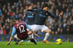 David Silva doing what he does best. Destroy.