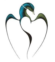Tattoo Image detail for -isaac bignell location native western loon dance i isaac bignell Loon Tattoo, I Tattoo, Native Art, Native American Art, Haida Art, Inuit Art, Organic Art, Spirited Art, Wine Art