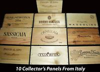 Winepine - Wooden Wine Crate Panels | eBay