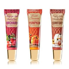 Bath & Body Works Fall 2014 Lip Gloss Collection