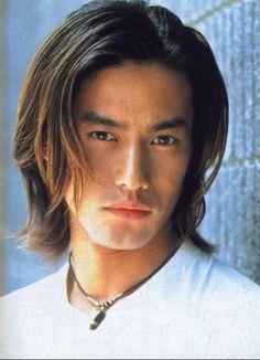 竹野内豊 Half Japanese, Japanese Boy, Cute Asian Guys, Hot Asian Men, Beautiful Boys, Gorgeous Men, Beautiful Things, Mexican Men, Long Black Hair