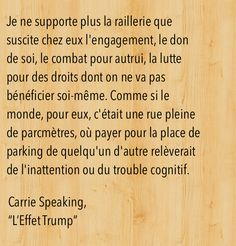 """Citation de """"L'Effet Trump""""."""