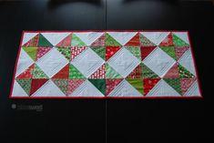 Christmas Diamonds Table Runner – Tutorial - Sew BitterSweet Designs