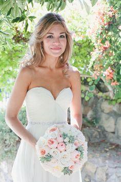 Chiffon Wedding Dress Bridal Gown Boho Beading Bridal Dress Custom Wedding Gown Wedding Dresses Floor-Length on Etsy, $246.00