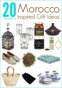Looking for a special gift idea with a touch of #Morocco? Look no further!
