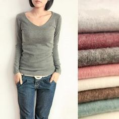 Fall Hot 2014 Women Ξ Candy Color Slim Knitted √ Sweater And Tops Pullovers V Neck Free ShippingFall Hot 2014 Women Candy Color Slim Knitted Sweater And Tops Pullovers V Neck Free Shipping http://wappgame.com