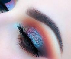 Imagen de eyes, makeup, and eyeshadow