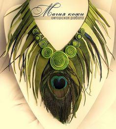 Svetlana Hramovskih is talanted russian jewelry artist. She makes amazing unique leather jewelry. Stone Jewelry, Charm Jewelry, Boho Jewelry, Jewelry Crafts, Handmade Jewelry, Fashion Jewelry, Jewellery, Leather Necklace, Leather Jewelry