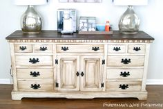 Brian and Kaylor DIY Coffee Bar/Buffet/Dresser