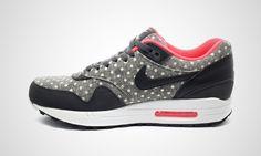 Nike Air Max 1 LTR PRM (grau / schwarz)