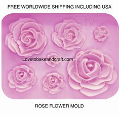 You will find in this category a great selection of silicone MOLDS MOULDS for cake decorating Fondant Gumpaste Sugarpaste Pastillage Chocolate and Rose Cake Tutorial, Cake Topper Tutorial, Fondant Tutorial, Fondant Rose, Fondant Flowers, Fondant Molds, Cupcake Mold, Rose Cupcake, Rose Cake Design