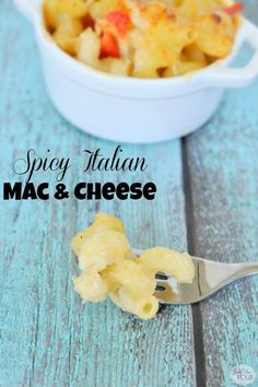 Spicy Italian Macaroni and Cheese