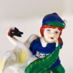 St Patricks Day Ginger Figurine Ireland Children of the World 1992 RSVP Swan | Collectibles, Holiday & Seasonal, Christmas: Current (1991-Now) | eBay!