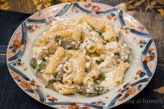 Pasta con carciofi e ricotta ricetta siciliana