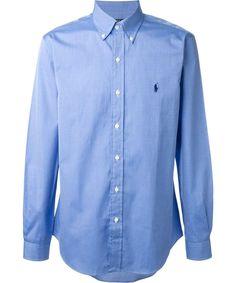 Ralph LAUREN MEN/'S manica lunga Casual camicia di cotone stretch RRP £ 98
