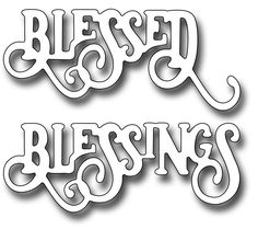 Image result for cards made using frantic stamper elegant blessings