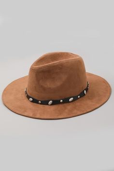 Faux Suede Studded Hat Selling Online, Hand Sewing, Cowboy Hats, Bohemian, Fashion, Moda, Sewing By Hand, Fashion Styles, Fashion Illustrations