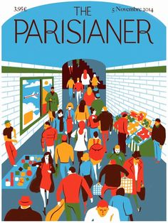 The Parisianer by Virginie Morgand, via Behance