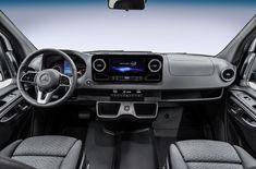 NEW Mercedes Sprinter Van launch is February 2018 - major changes to dash + steering wheel.