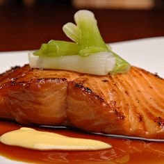 Maple-Glazed Arctic Char - Baked Fish Recipe This sweet and tangy recipe is sure to be a crowd favorite, mixing a sweet maple glaze with delicious baked arctic char. Cilantro Recipes, Tilapia Fish Recipes, Whole30 Fish Recipes, Chard Recipes, Easy Fish Recipes, Entree Recipes, Salmon Recipes, Cooking Recipes, Recipes Dinner