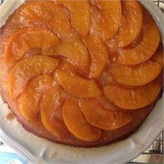 Peach Upside Down Cake II - Allrecipes.com