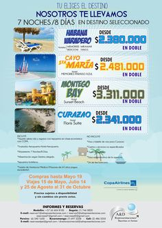 Promocion caribe 7 Noches 8 días