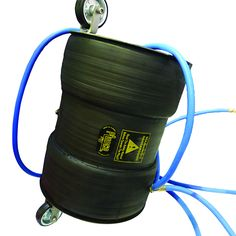 Joint Tester is a steel core covered by rubber and used to leak test pipes individual joints.