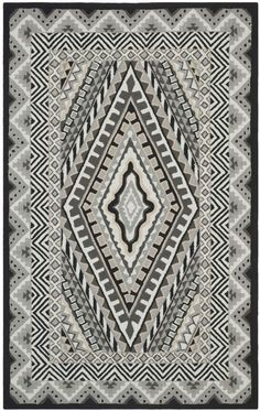 $5 Off when you share! Safavieh Four Seasons FRS490 IVORY GREY Rug #RugsUSA