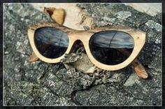 Anteojos de Sol de madera. Mod: Madrid