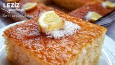 Yogurt Dessert (Great Dessert That Shoots Full Sorbet) - Delicious Recipes - Cheesecake Recipes Small Desserts, Great Desserts, Cakes Originales, Strawberry Cake Recipes, Homemade Desserts, Turkish Recipes, Sweets Recipes, Cheese Recipes, Cheesecake Recipes
