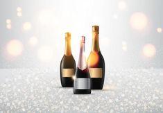 Champagne on light Art Images, Wine Rack, Vector Art, Champagne, Clip Art, Drink, Lighting, Artist, Flowers